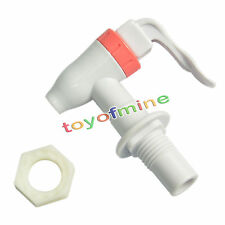 Push Type Plastic Replacement Water Dispenser Tap Faucet White PS