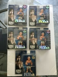 """WEC ULTIMATE COLLECTOR LIMITED  EDITION (/1500) URIJAH """" THE CALI KID"""" FABER FIG"""