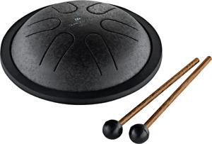 MEINL Sonic Energy Mini Steel Tongue Drum, C Major, Black (MSTD1BK)
