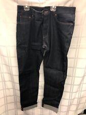 NWT Ami Alexandre Mattiussi Dark Jeans 34 X 32 Cuffed