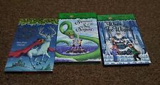 MARY POPE OSBORNE 3 hardcover books SERIES: MERLIN MISSION,WINTER oF THE ICE WIZ