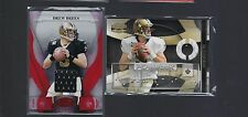 JERSEY LOT 2 DREW BREES 2009 PLAYBOOK + 2008 CERTIFIED RED  SAINTS NO
