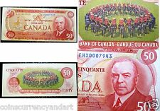Canada 1975 -  Replacement EHX $50 - Bank Of Canada - One of the Scarcer Ones