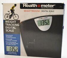 "Health O Meter Weight Tracking Digital Scale Platform 11"" x 11.9"" 350lb"