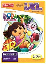 DORA THE EXPLORER 3D FISHER PRICE iXL FUN INTERACTIVE LEARNING GAME BRAND NEW