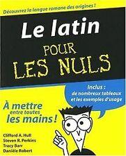 Le latin pour les Nuls de Hull, Clifford, Perkins, Steven | Livre | état bon
