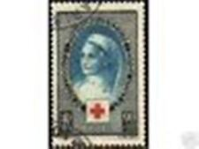 """FRANCE STAMP TIMBRE 1939  Y&T 422  """" CROIX ROUGE """", OBLITERE TB"""