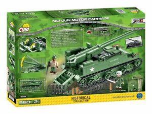 M12 GMC - COBI 2531 - 560 brick self-propelled gun