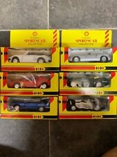 6 X shell classic sportscar collection Cars