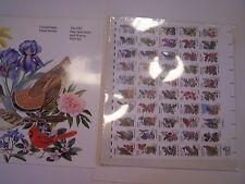 1982 Fifty State Bird & Flowers MINT SET United States Postal Service