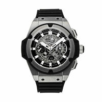 Hublot Big Bang King Power Unico Chrono Auto Titanium Mens Watch 701.NX.0170.RX