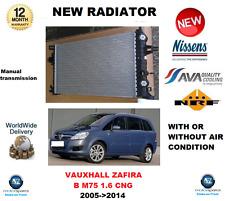 Per Vauxhall Zafira B M75 1.6 CNG 2005 > 2014 Nuovo Motore Radiatore ** Oe QUALITY **