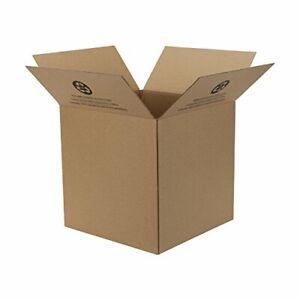 Duck 14 in. H x 14 in. W x 14 in. L Cardboard Corrugate Box 1 pk