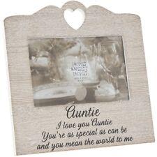 Wooden Heart Sentiment Picture Photo Frame Mum/Nan/Sister/Auntie/Friend Love