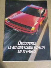 CATALOGUE AUTO : TOYOTA : GAMME DEBUT ANNEES 1990 ?