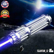 High Power 5000000M Blue Laser Pointers 450Nm Lazer Flashlight Burning Match