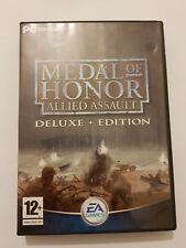 Medal Of Honor:ALLIED ASSAULT Deluxe  PC España completo 2 manuales+expansion