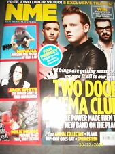 NEW MUSICAL EXPRESS NME 4 AUGUST 2012 TWO DOOR CINEMA CLUB Jack White Nirvana
