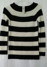 Women black&white striped sweater, size XS by Ann Taylor. New with tags!