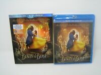 beauty and the beast bluray + dvd combo with slipcover brand new sealed disney