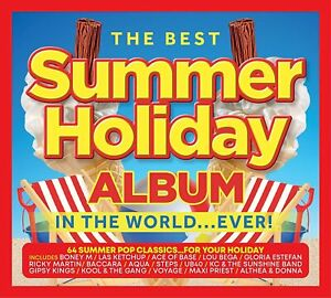 THE BEST SUMMER HOLIDAY ALBUM IN THE WORLD...EVER 3-CD (Released June 18th 2021)