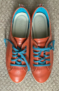 Ecco Ladies Leather Casual Shoes, Size 41 (UK 7.5)