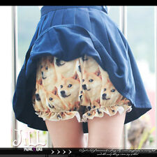 LOLITA japan cartoon big head Chiba dog Doge intimate bloomer shorts【J3F2202】