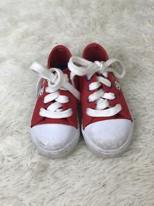 Paw Patrol Red Kids Chase & Marshall Shoes Size 6 PRELOVED❤️🐶🚔