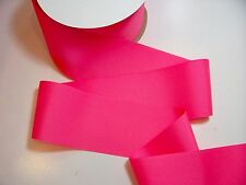 Wide Pink Ribbon, Offray Tutti Frutti Grosgrain 3 inches wide x 3 yds Cheer Bow