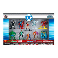 DC Exclusive Nano Diecast Figures Set of 10 Jada 98663