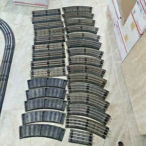 Lot  of 23 Johnson's 031 Lionel 9 Straight & 14 Curve Rubber Roadbed + more...