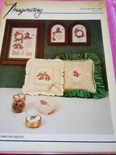 Imaginating Counted Cross Stitch Leaflet Aunt Bessie's Gift
