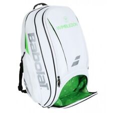 Babolat tennis backpack Pure Wimbledon, Rare white with bright green Nwt