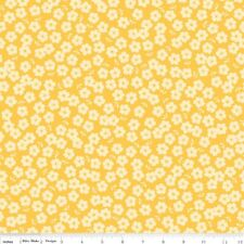 Fly a Kite - Riley Blake 100% quilt cotton - Yellow Floral -by the yard
