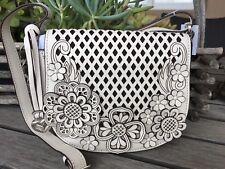BRIGHTON NWT BRITTA  Tivoli Trellis Collection Leather Purse/handbag