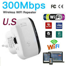 300Mbps Wireless-N AP Range 802.11 Wifi Network Repeater Signal Extender Booster