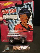 Hot Wheels Star Trek Mattel Lt Uhura 1988 Jeep Wagoneer Pop Culture Purple Car