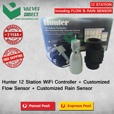 Hydrawise 6 Station WiFi Irrigation Controller with customised Flow&Rain sensor