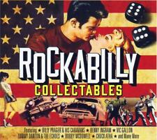 ROCKABILLY COLLECTABLES - VARIOUS ARTISTS (NEW SEALED 3CD SET)