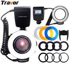 Travor RF550D Macro 48LED Ring Flash Light for Nikon Canon Olympus DSLR Camera