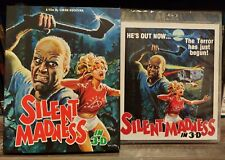 Silent Madness (Blu-ray 3D) NEW Limited Slipcover  Vinegar Syndrome 80's Slasher