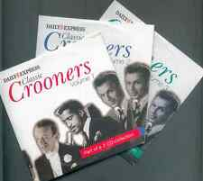 CLASSIC CROONERS - 3 PROMO CDs: RAT PACK, PERRY COMO, BOBBY VEE, AL MARTINO ETC