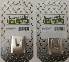 Lot of 2 Accessories Unlimited Aumh1 Magnetic Style Cb / Ham Radio Mic Holders