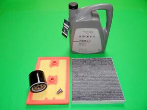 Filterset Seat Ateca (KH7) 1.4 TSI 110kW + 5L Original VW Öl 0W30 50400/50700