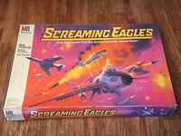 Vintage Screaming Eagles Board Game 1987 Milton Bradley