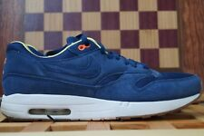 Schuhe 2013 Nike Air Maxim 1 A.p.c Max APC Navy Blue Gum QS Orange Clot