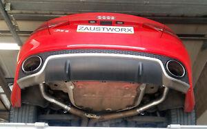 Audi RS5 (B8) Rear silencer deletes