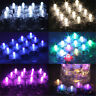 New Submersible Waterproof Battery Operated LED Tea Lights Wedding Table Decor