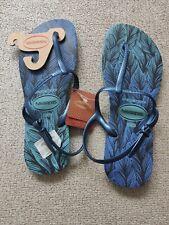 Havaianas Blau Flip Flops Gr. 43/44