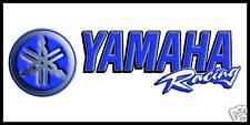 Yamaha Racing Premium Vinyl Banner 2' x 4' Sign Flag Poster High Quality!!